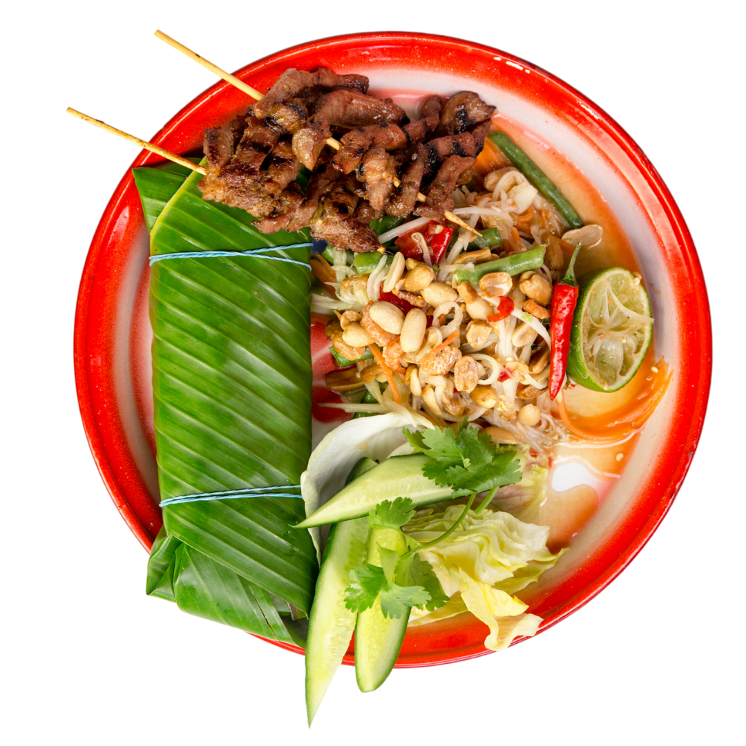 Thaikhun Thai street food papaya salad