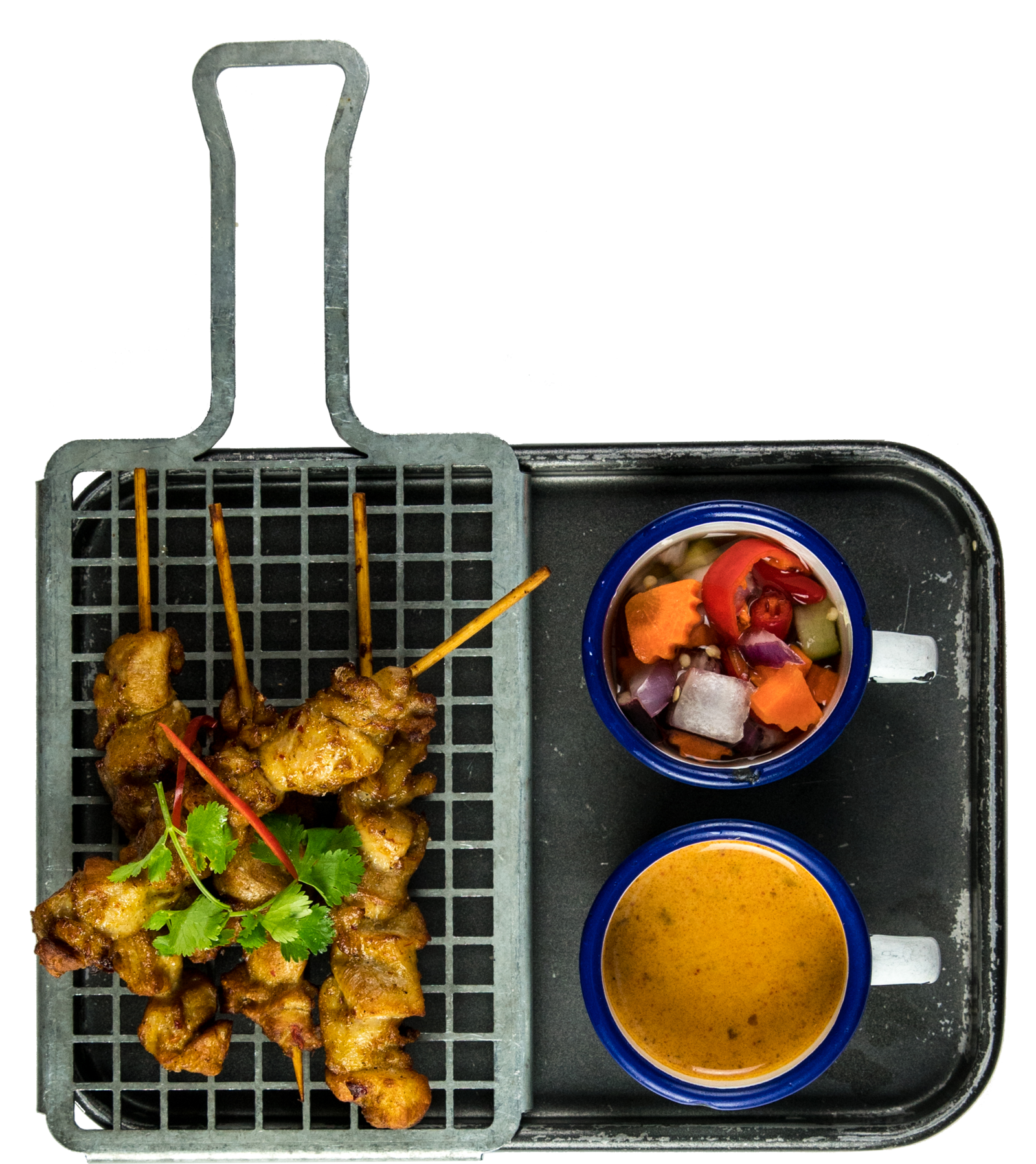 Thaikhun Thai street food chicken satay