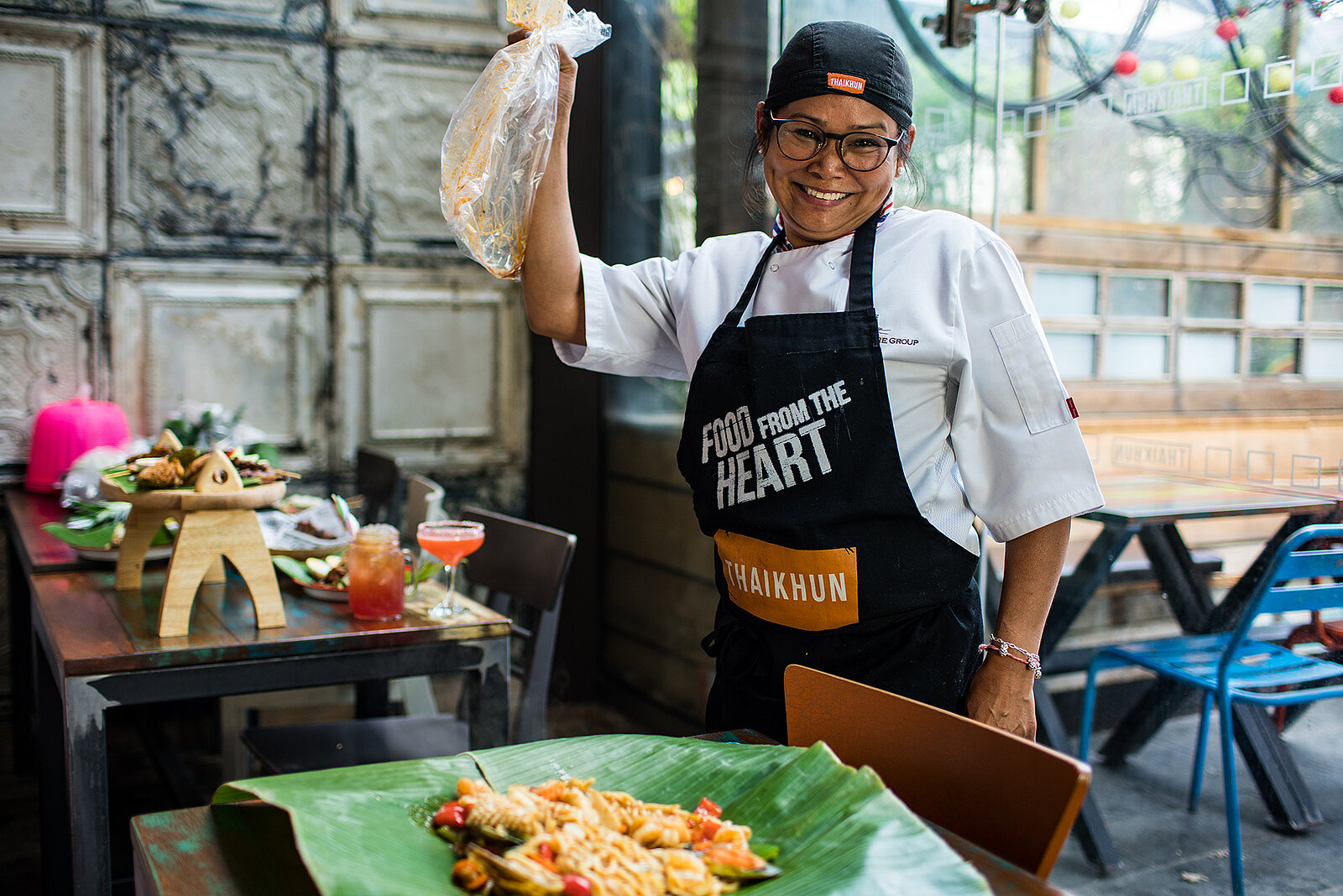 Thaikhun thai street food Kim chef and owner