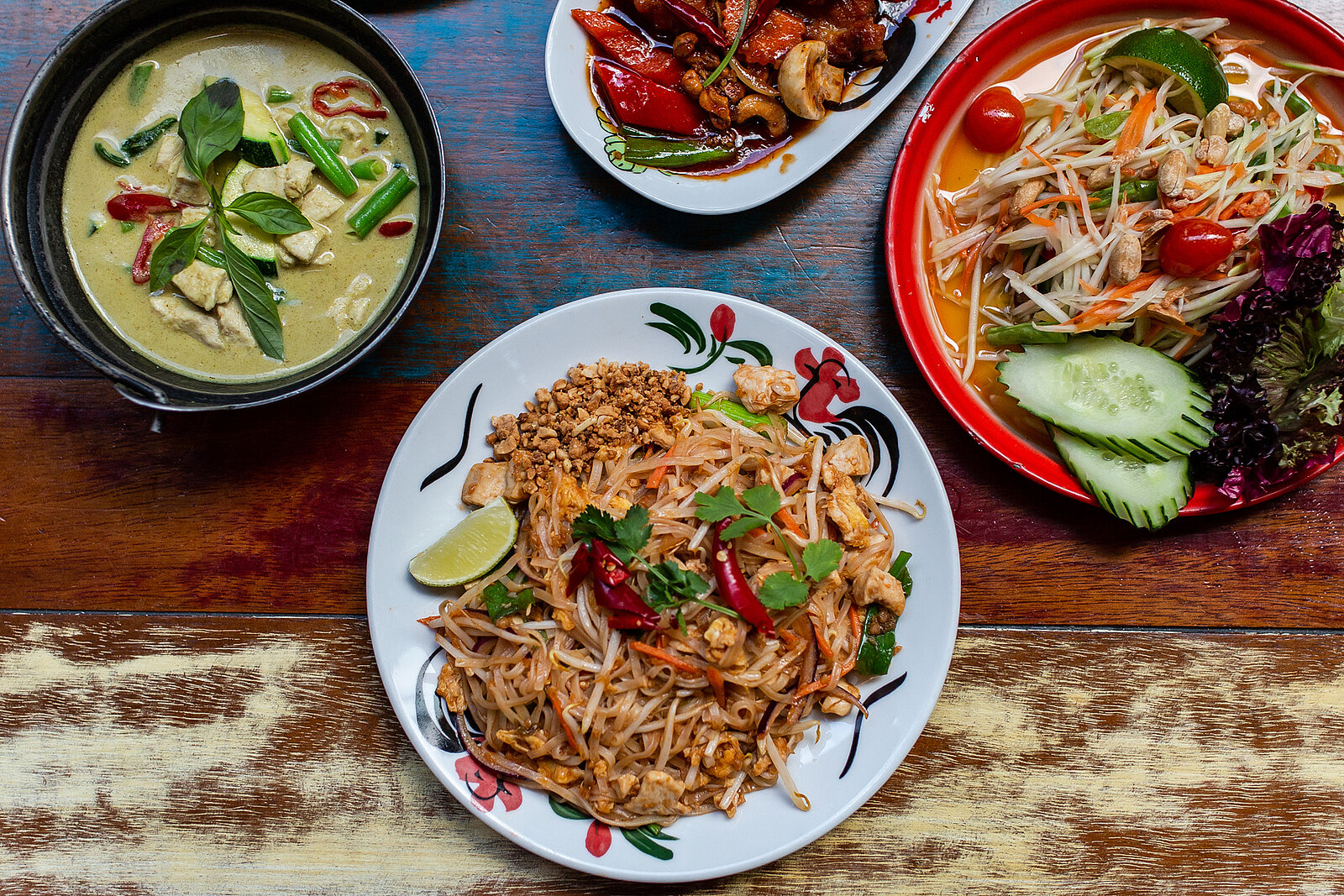 Thaikhun Thai street food delicious menu